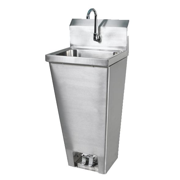 Klinger's Trading FVSH-1000 sink, hand