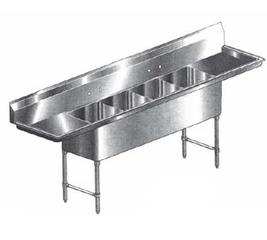 Klinger's Trading HDS42D sink, (4) four compartment