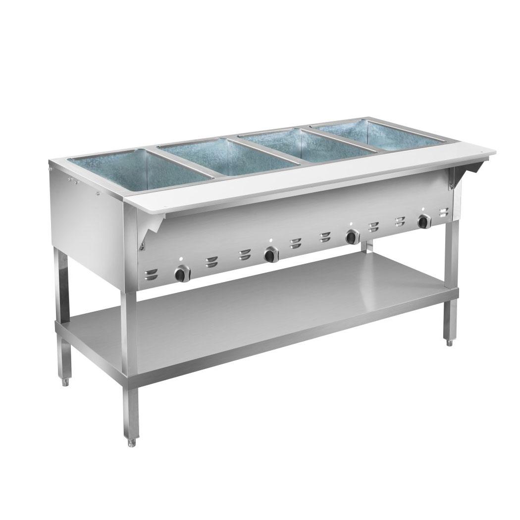 Klinger's Trading HF3H serving counter, hot food, gas