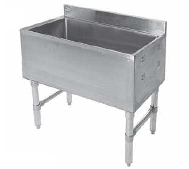 Klinger's Trading IC-1824 underbar ice bin/cocktail unit