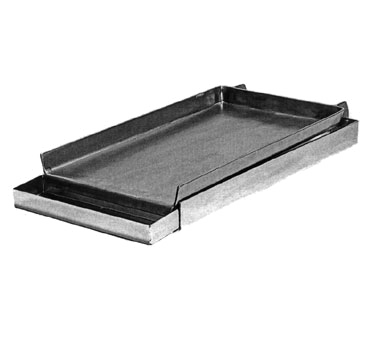 Klinger's Trading MC-12 lift-off griddle / broiler