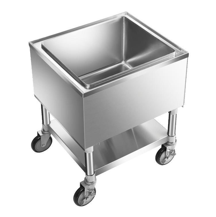 Klinger's Trading MIB-3021 ice bin / ice caddy , mobile