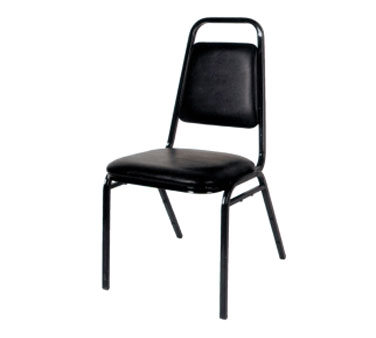 Klinger's Trading SC-1-BLACK chair, side, stacking, indoor