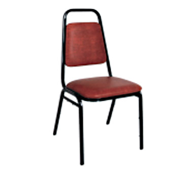 Klinger's Trading SC-1-RED chair, side, stacking, indoor