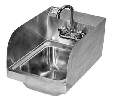 Klinger's Trading SPHS-1000 sink, hand