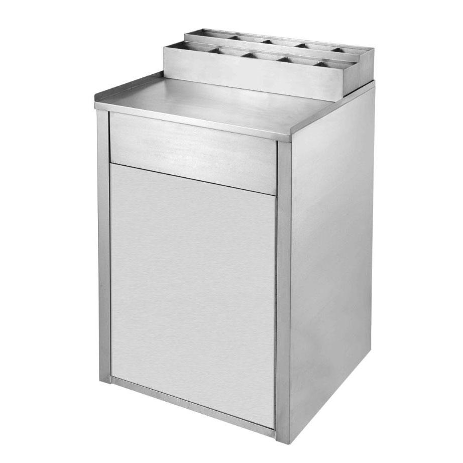 Klinger's Trading WR-2000 trash receptacle, cabinet style