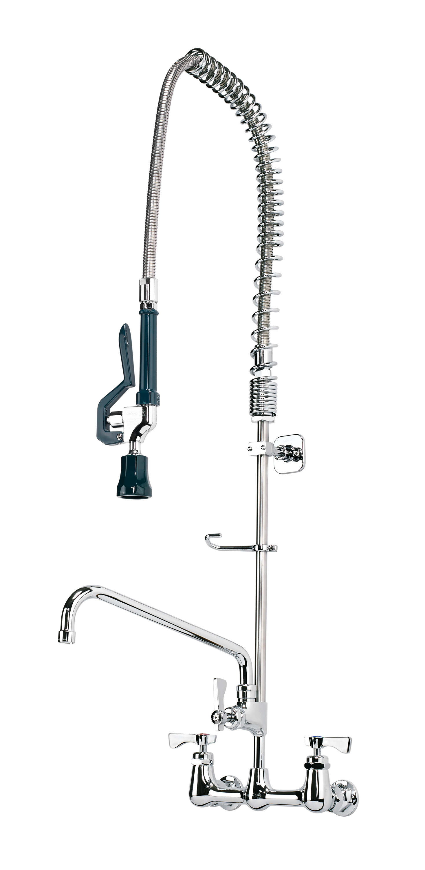 Krowne Metal 17-109WL pre-rinse faucet assembly, with add on faucet