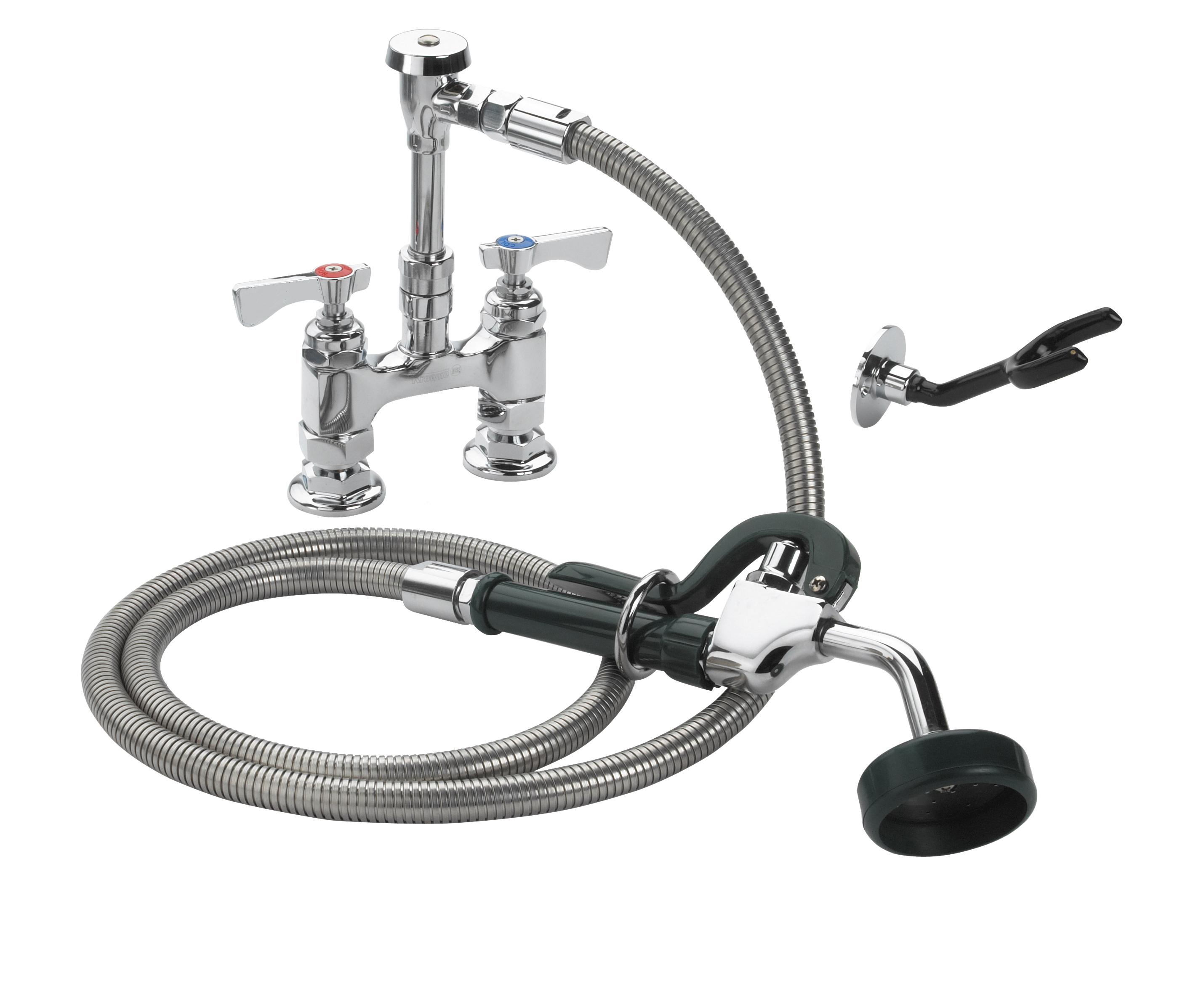 Krowne Metal 19-204L pre-rinse faucet assembly