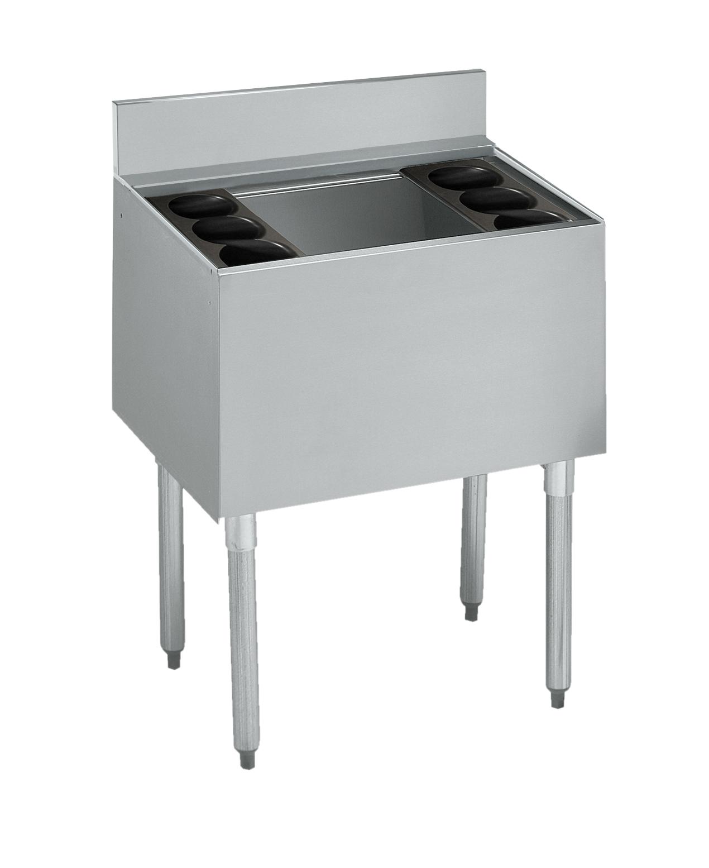 Krowne Metal 21-24DP underbar ice bin/cocktail unit