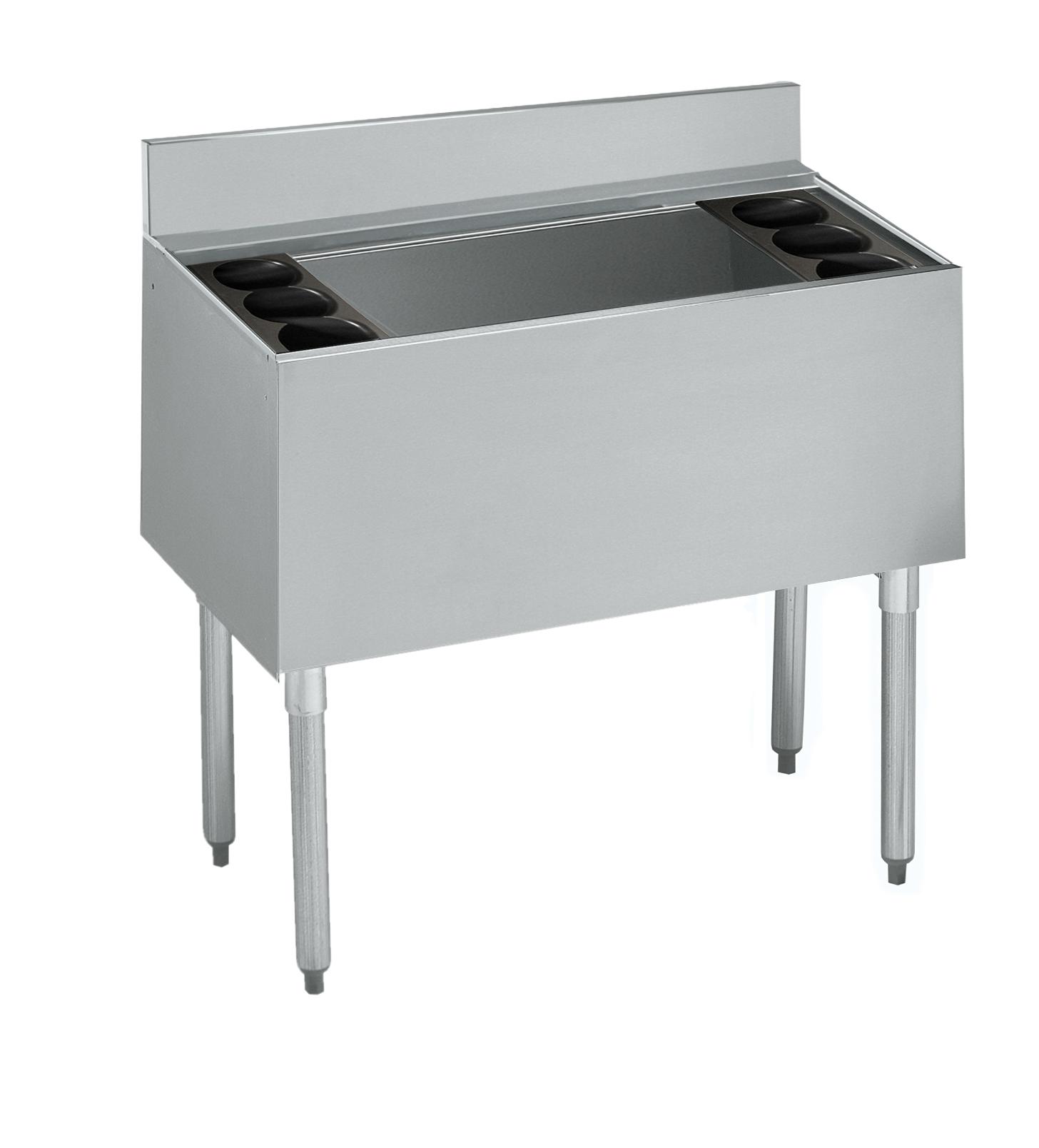 Krowne Metal 21-36DP-7 underbar ice bin/cocktail unit