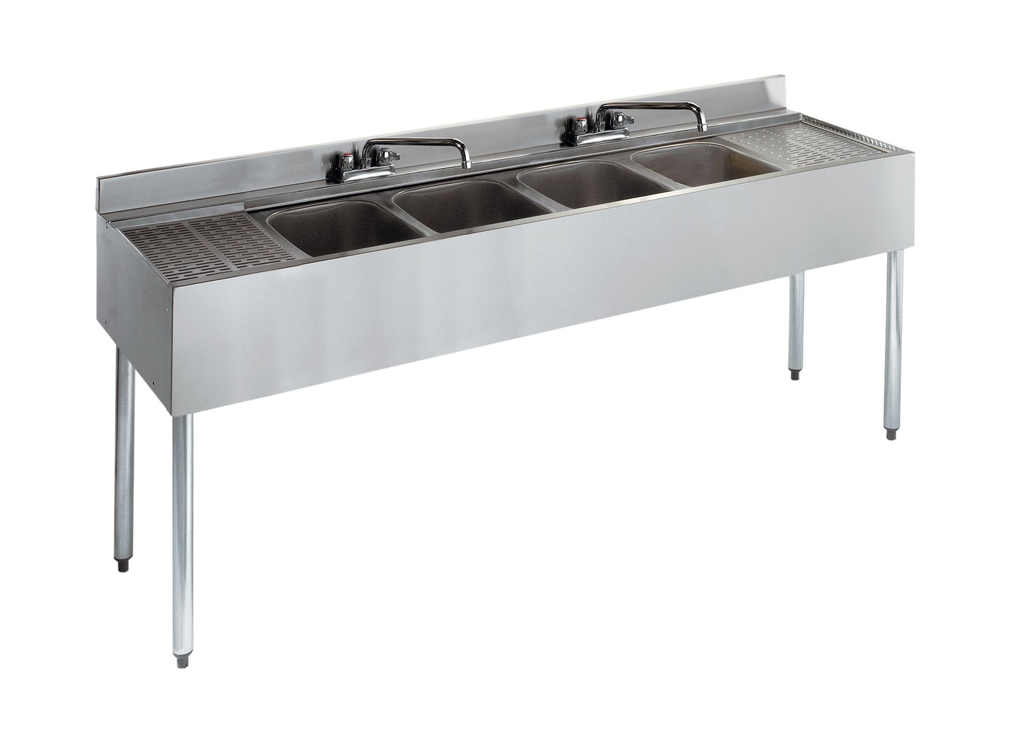 Krowne Metal 21-64C underbar sink units