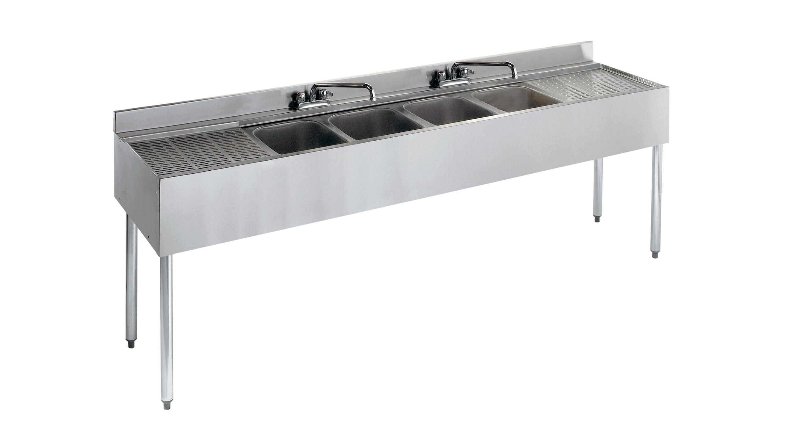 Krowne Metal 21-74C underbar sink units