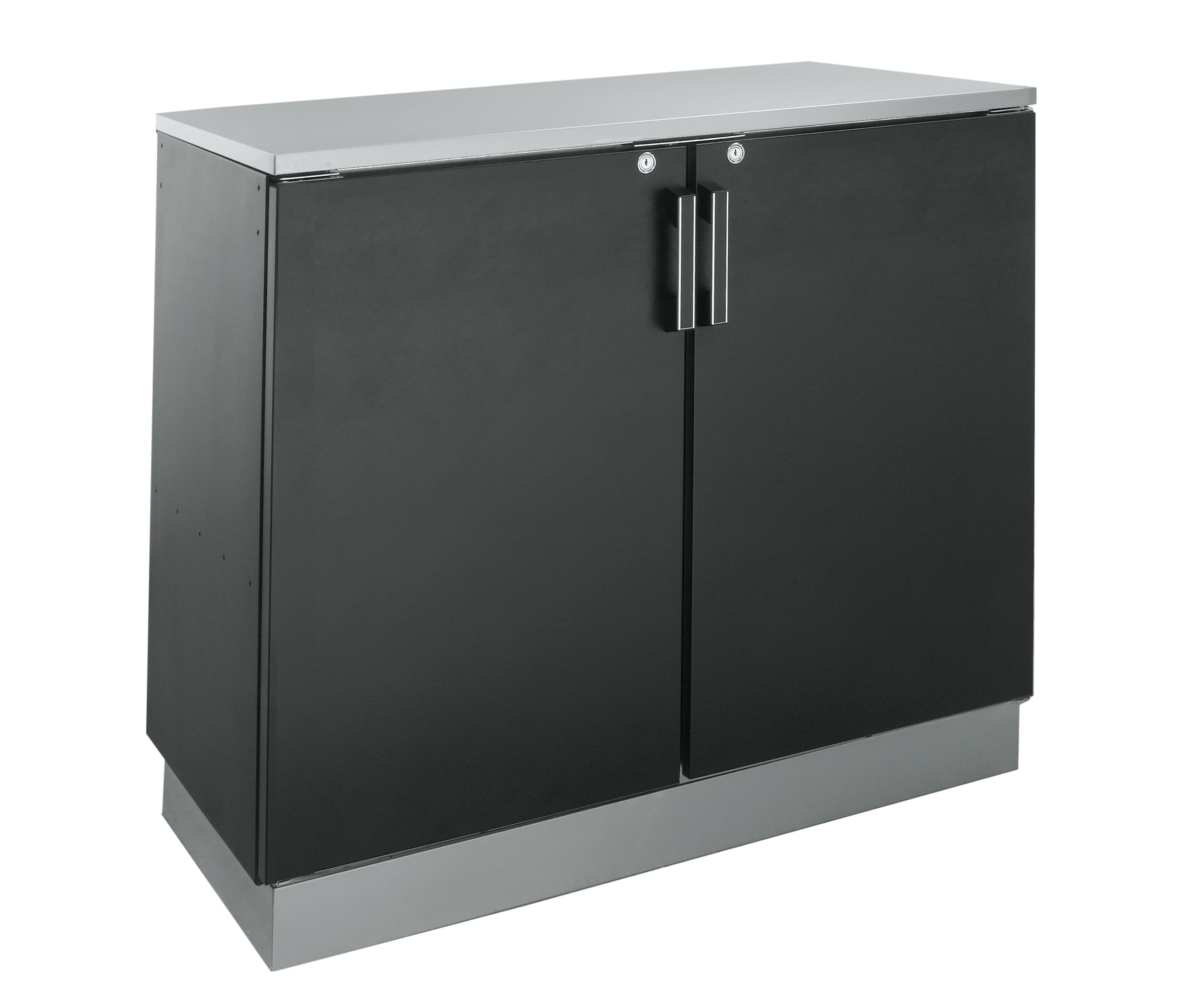 Krowne Metal BD48 back bar cabinet, non-refrigerated