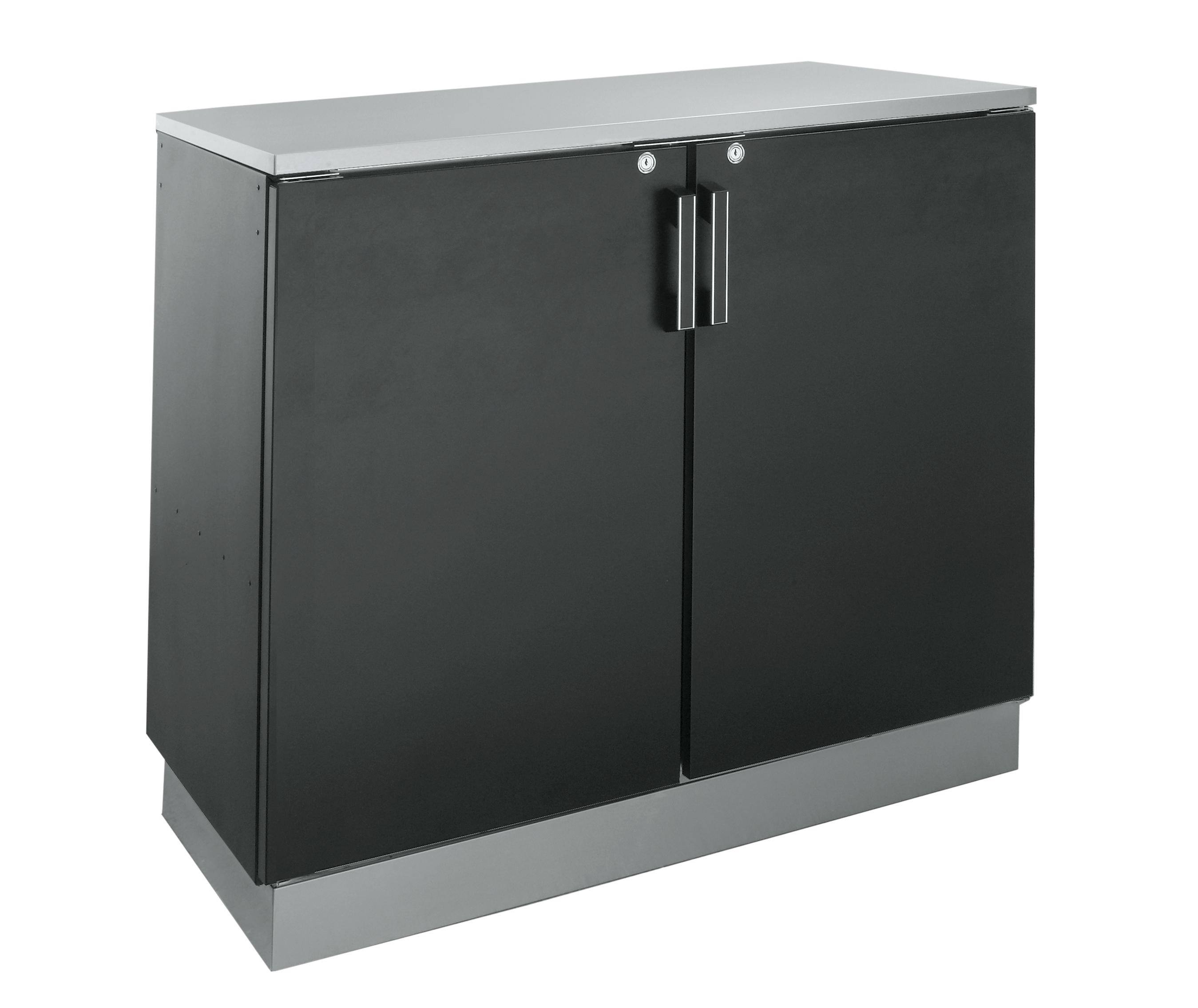 Krowne Metal BD48 back bar cabinet, non-refrigerated