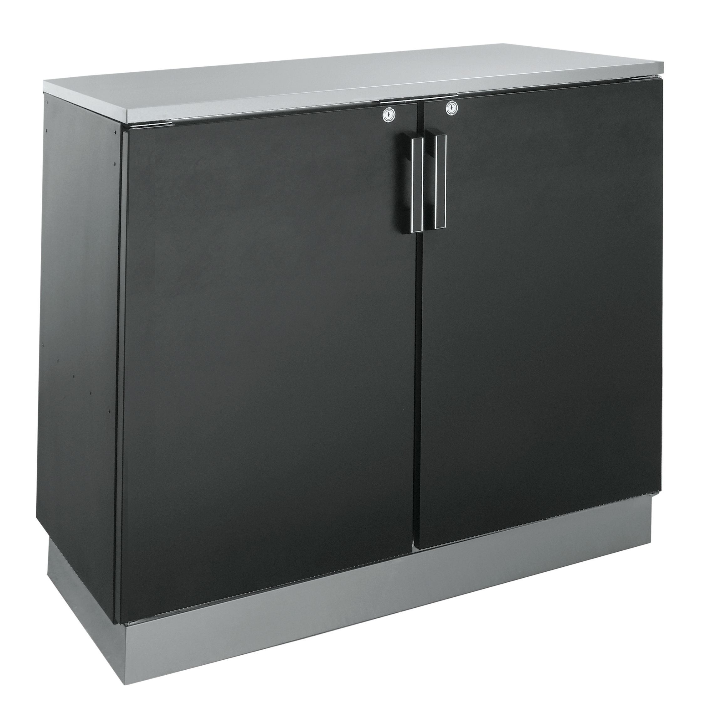 Krowne Metal BD72 back bar cabinet, non-refrigerated