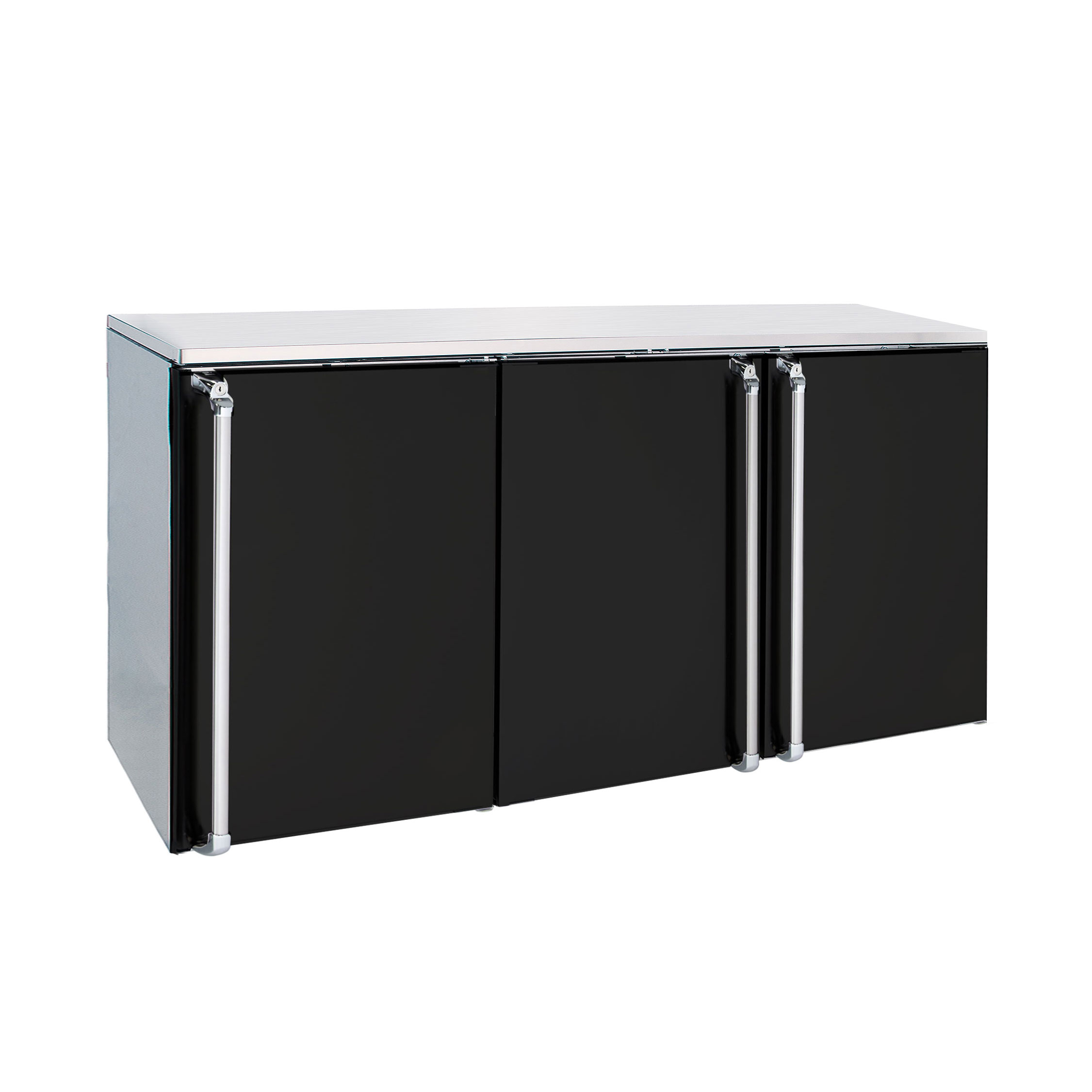 Krowne Metal BR72 back bar cabinet, refrigerated