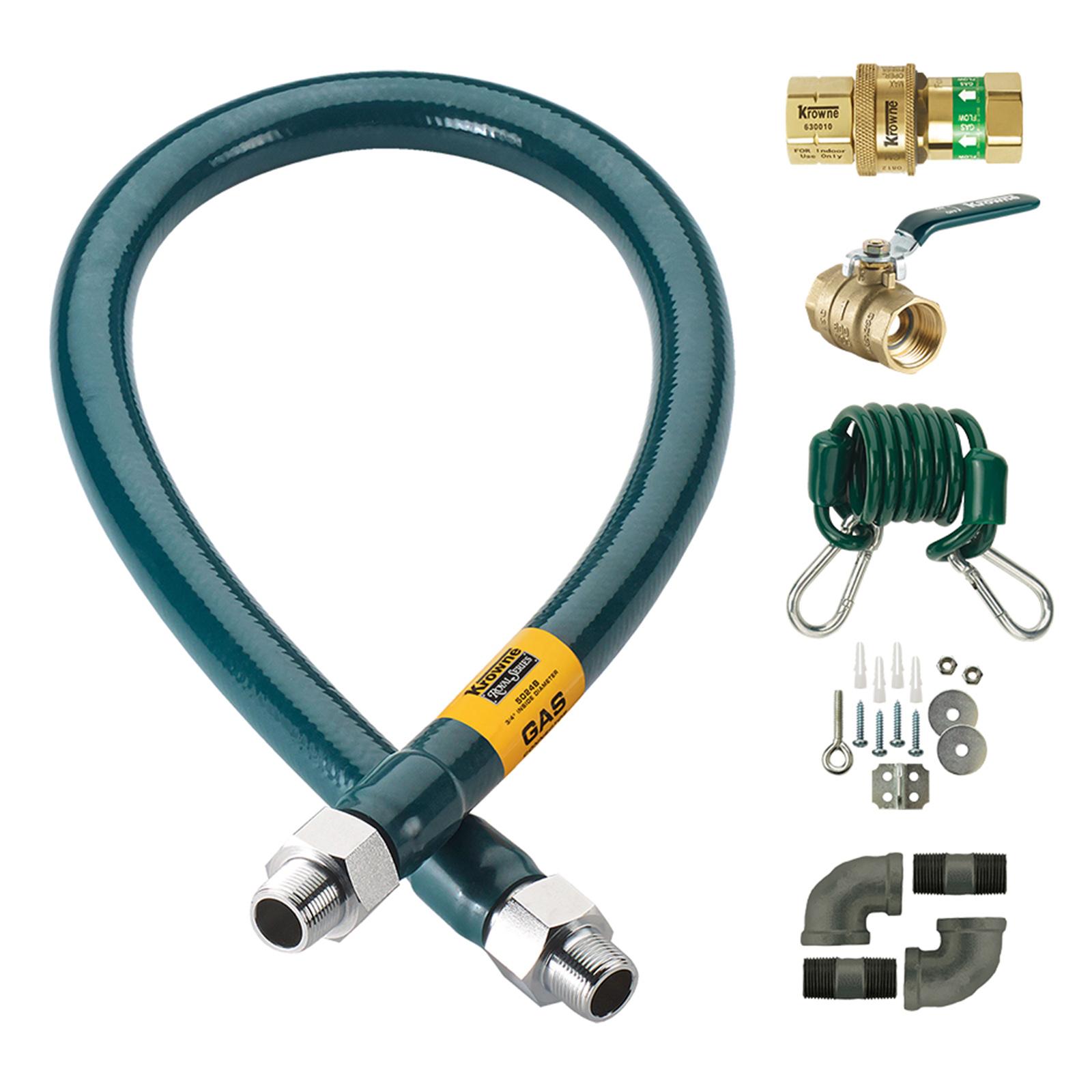 Krowne Metal C10024K gas hoses