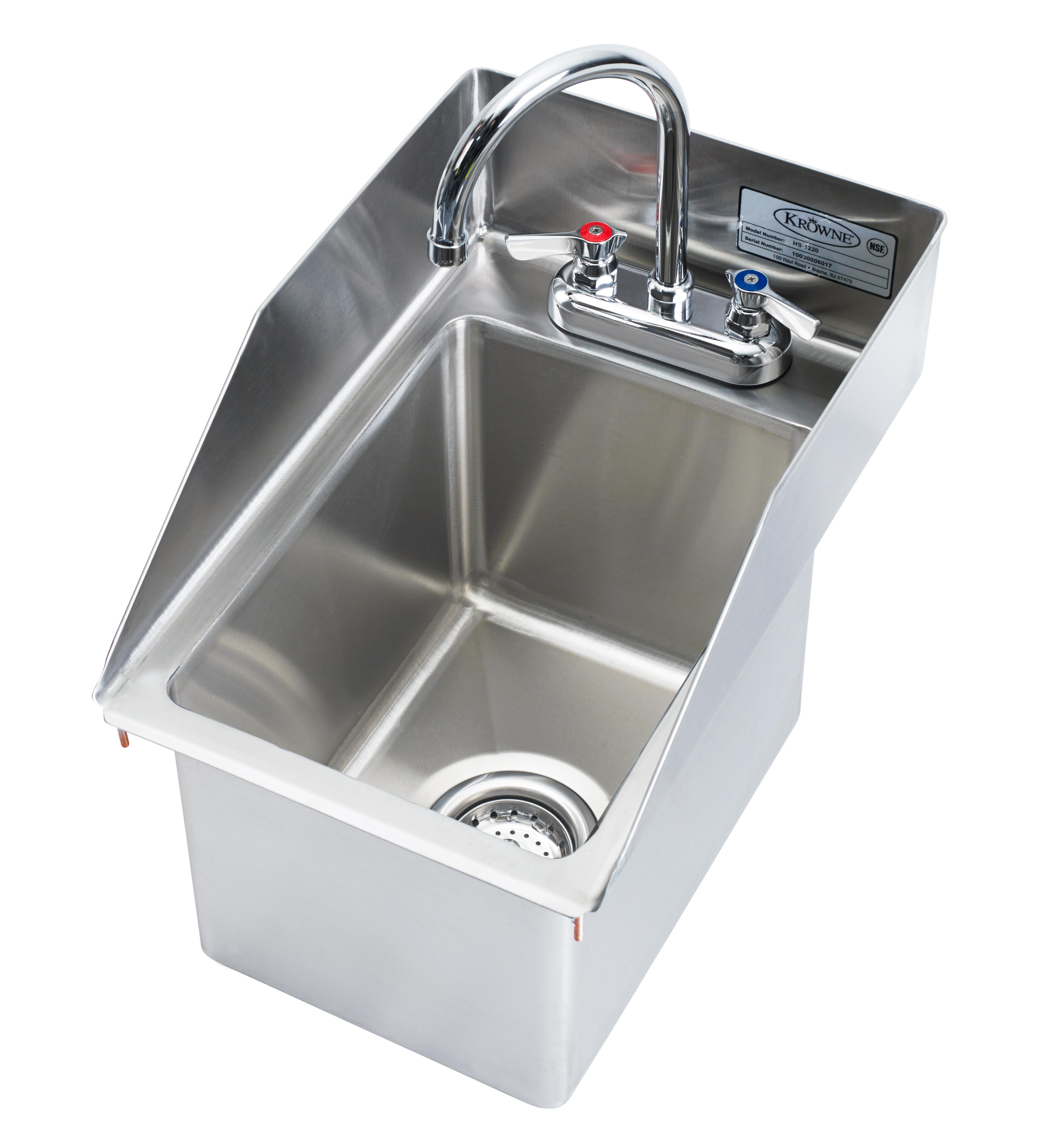 Krowne Metal HS-1220 sink, hand