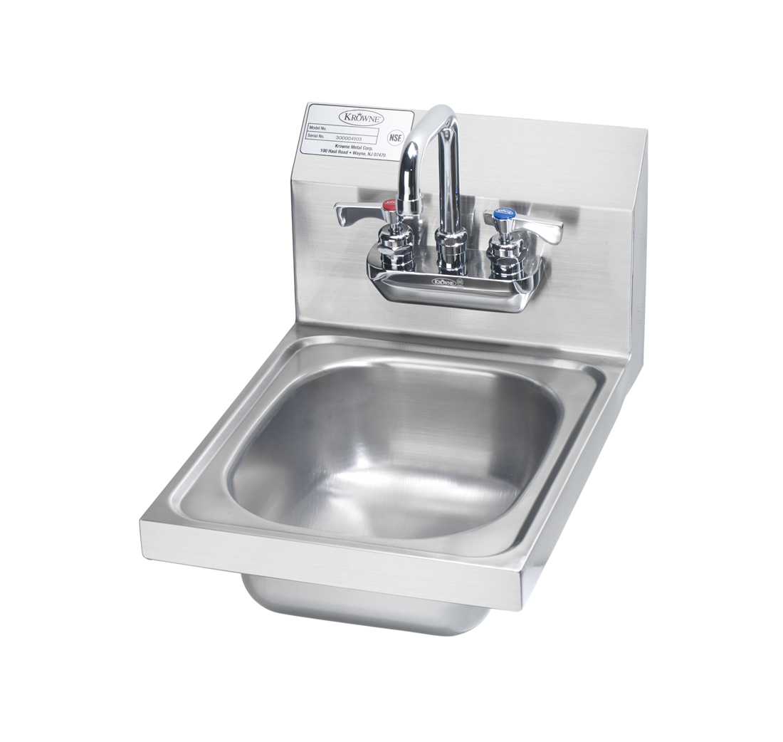Krowne Metal HS-21 sink, hand