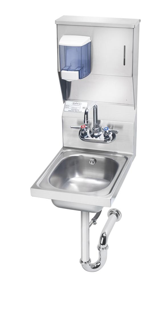 Krowne Metal HS-31 sink, hand