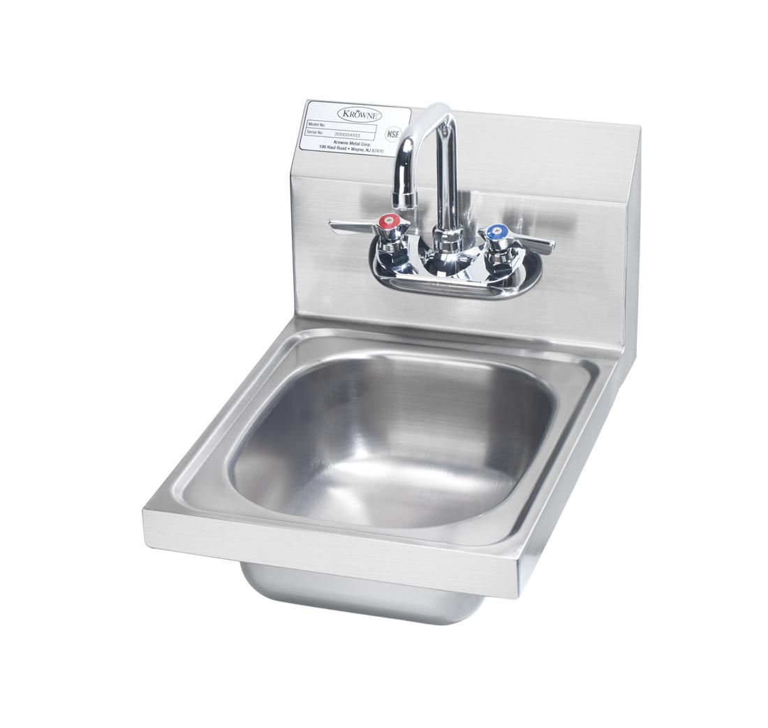 Krowne Metal HS-9L hand sinks