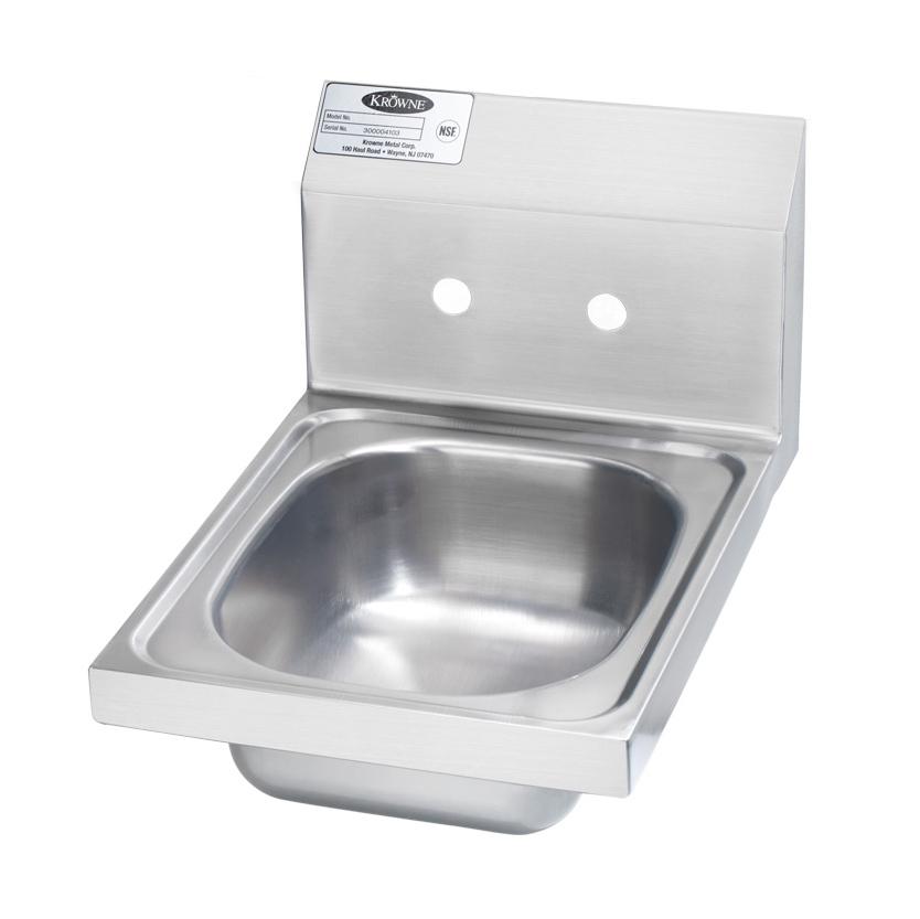 Krowne Metal HS-9-LF hand sinks