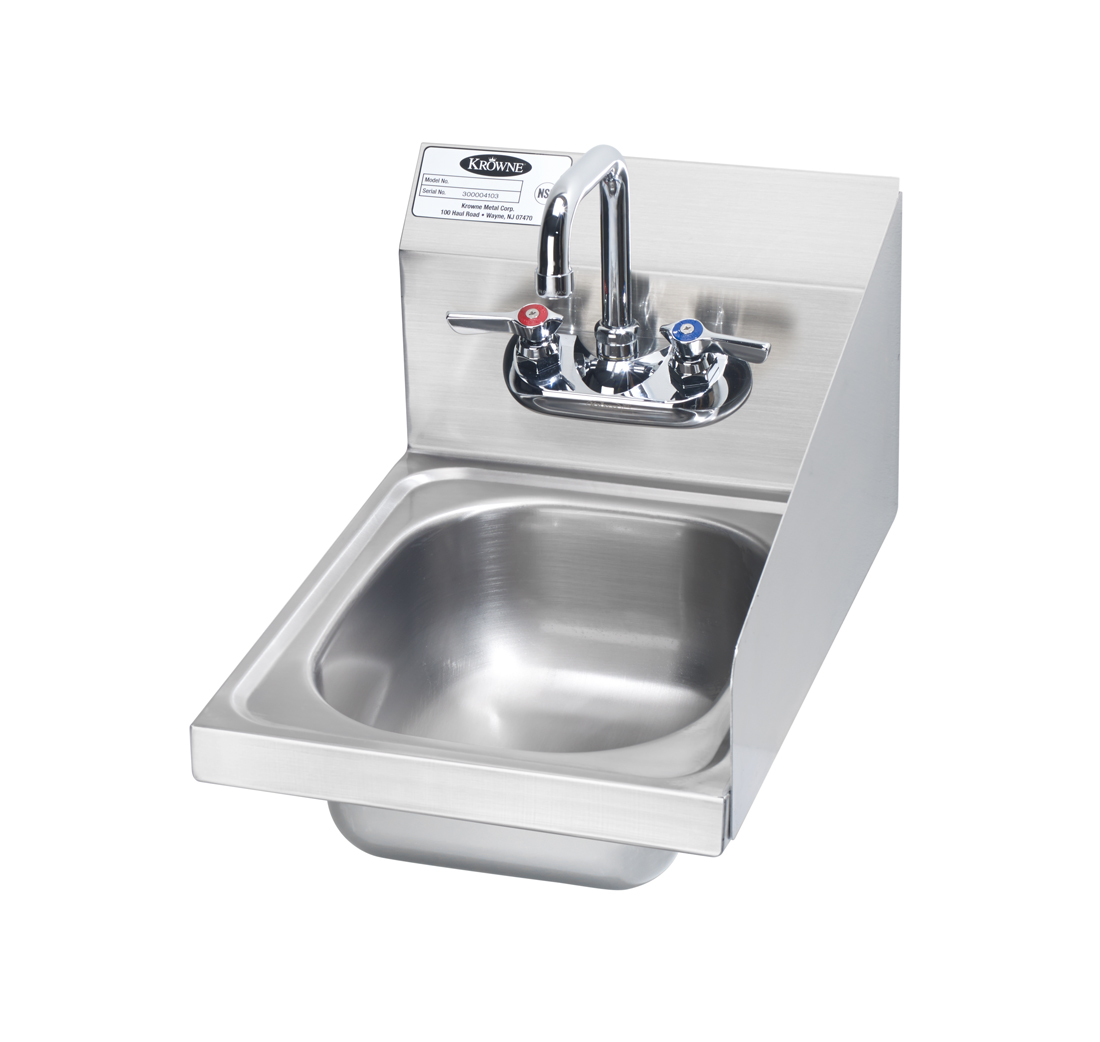 Krowne Metal HS-9-RS sink, hand