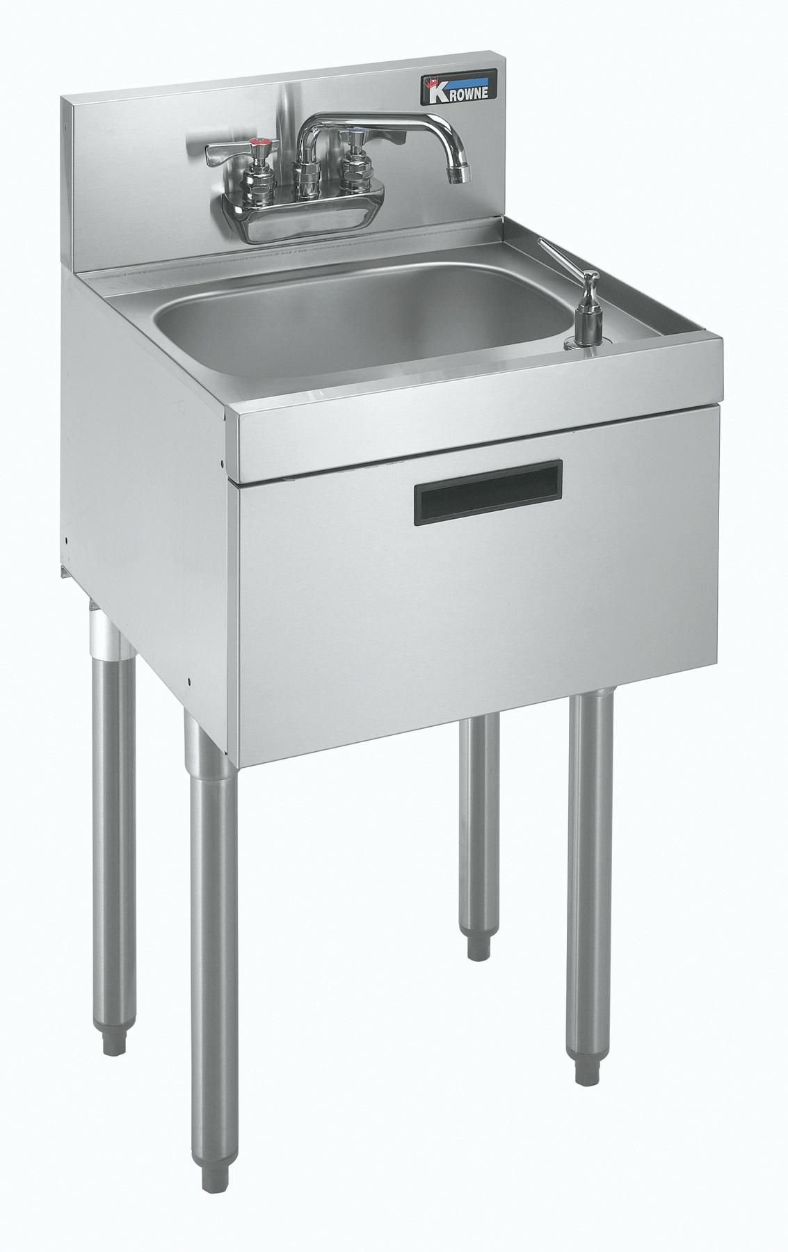 Krowne Metal KR18-12DST underbar hand sink unit