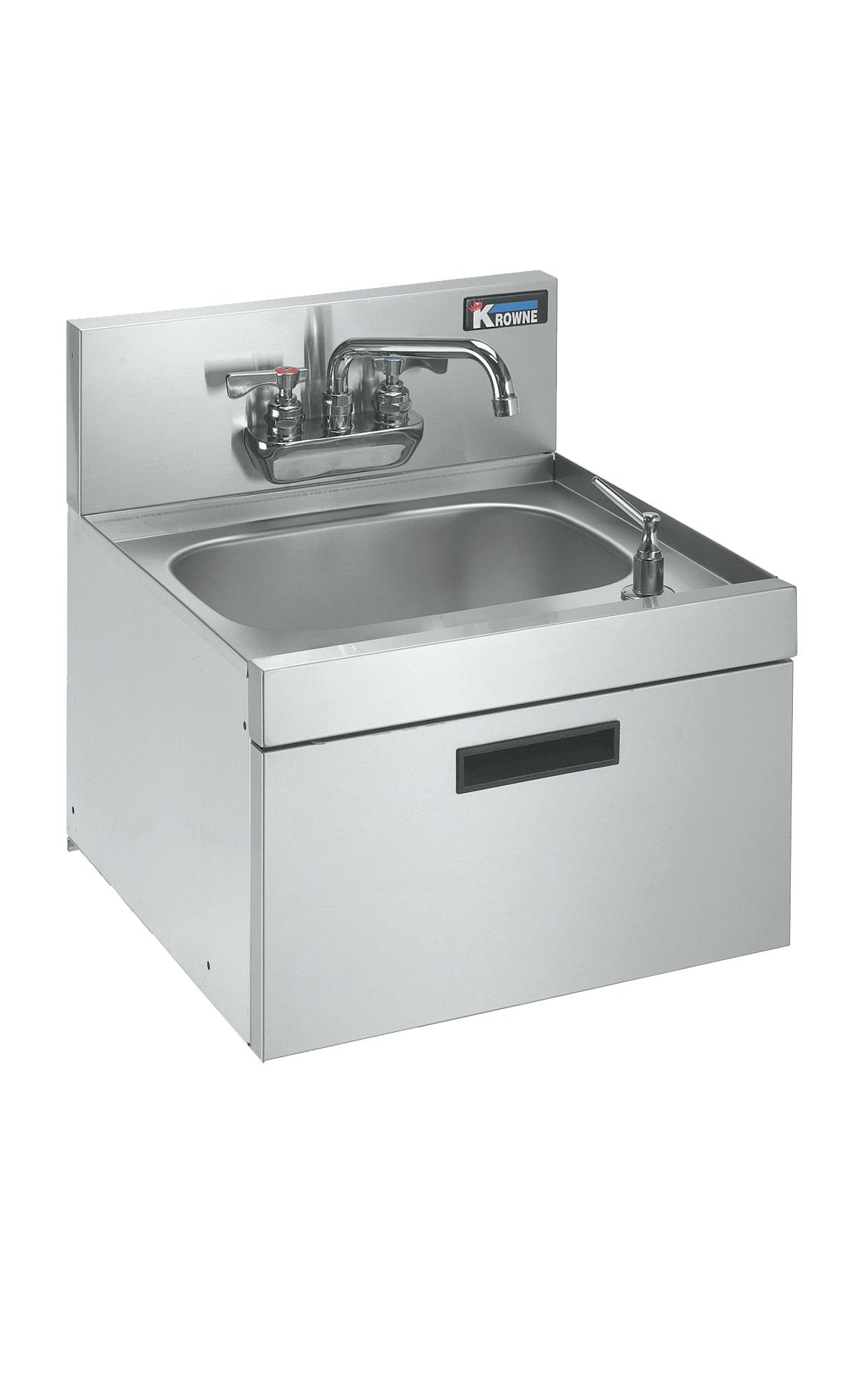 Krowne Metal KR19-18WST underbar hand sink unit