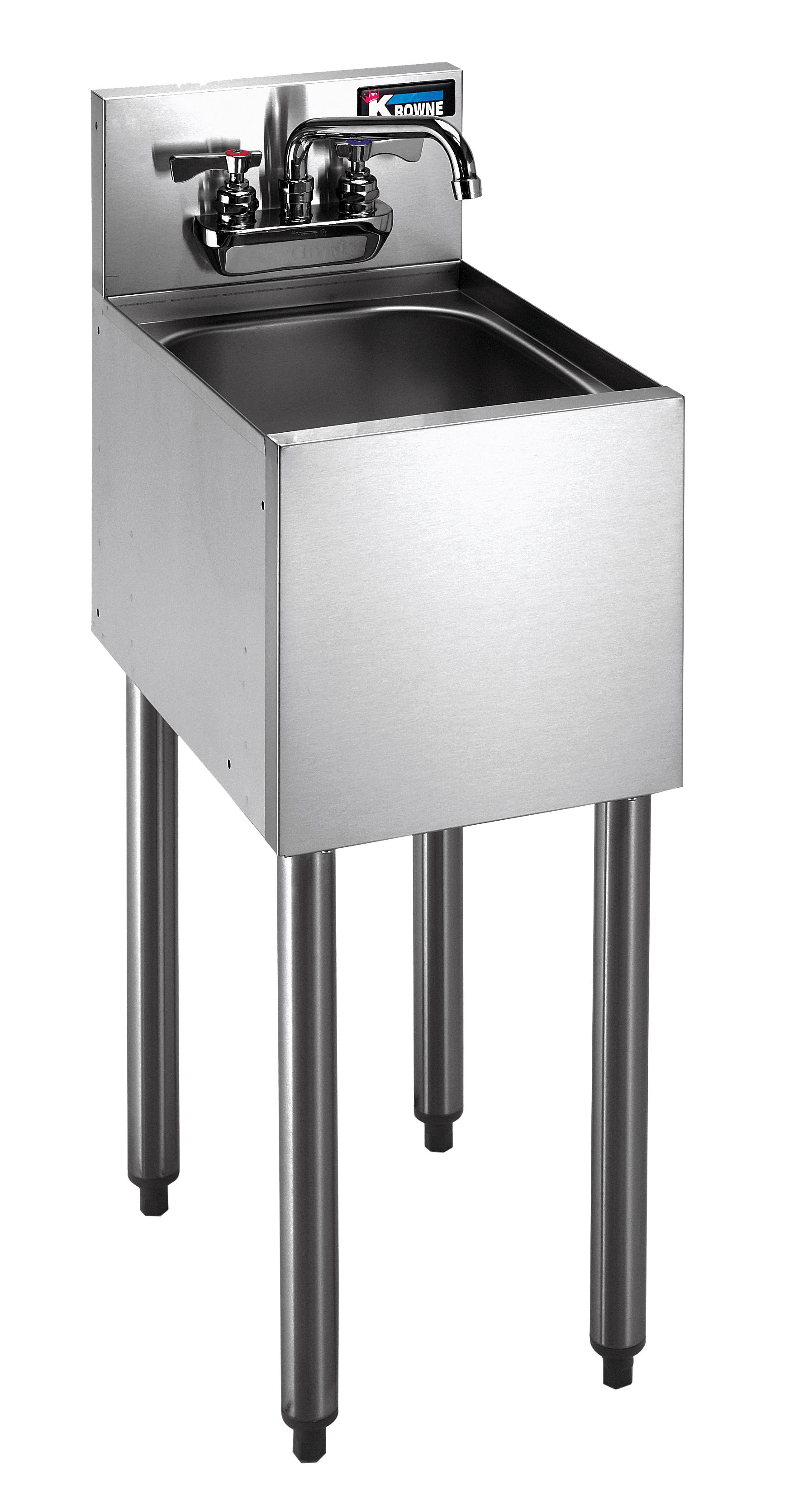 Krowne Metal KR18-1CD underbar hand sink unit