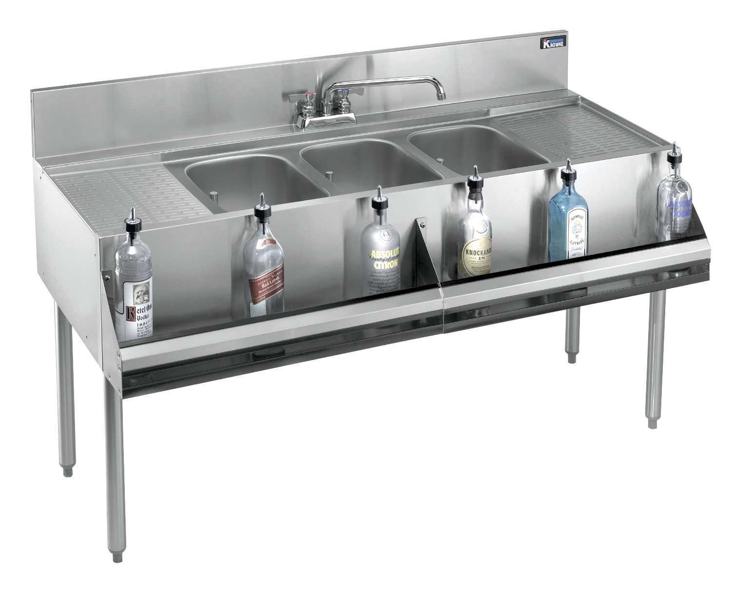 Krowne Metal KR19-63C underbar sink units