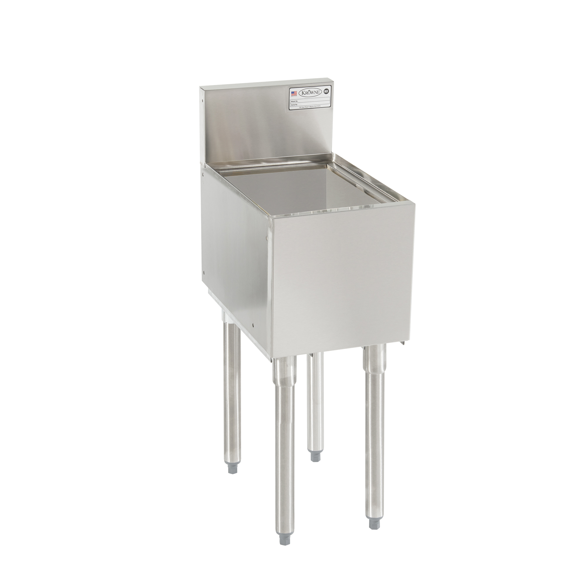 Krowne Metal KR19-8 underbar ice bin/cocktail unit
