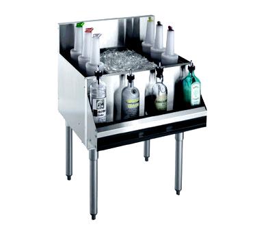 Krowne Metal KR21-36-10 underbar ice bin/cocktail unit
