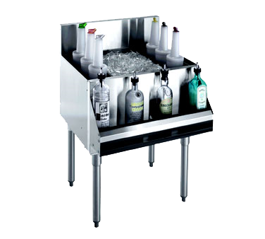 Krowne Metal KR21-42-10 underbar ice bin/cocktail unit