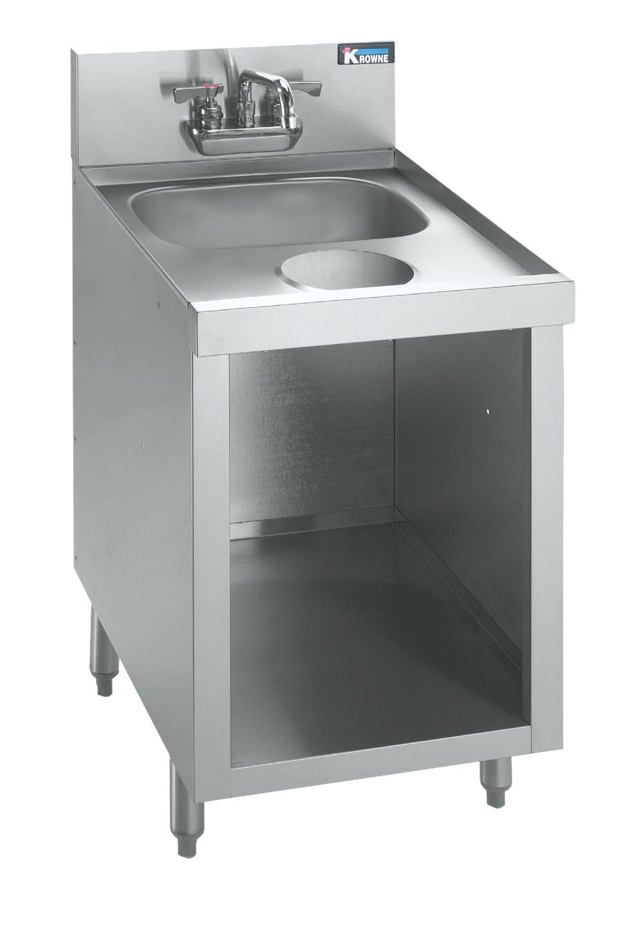 Krowne Metal KR21-S18C underbar hand sink unit