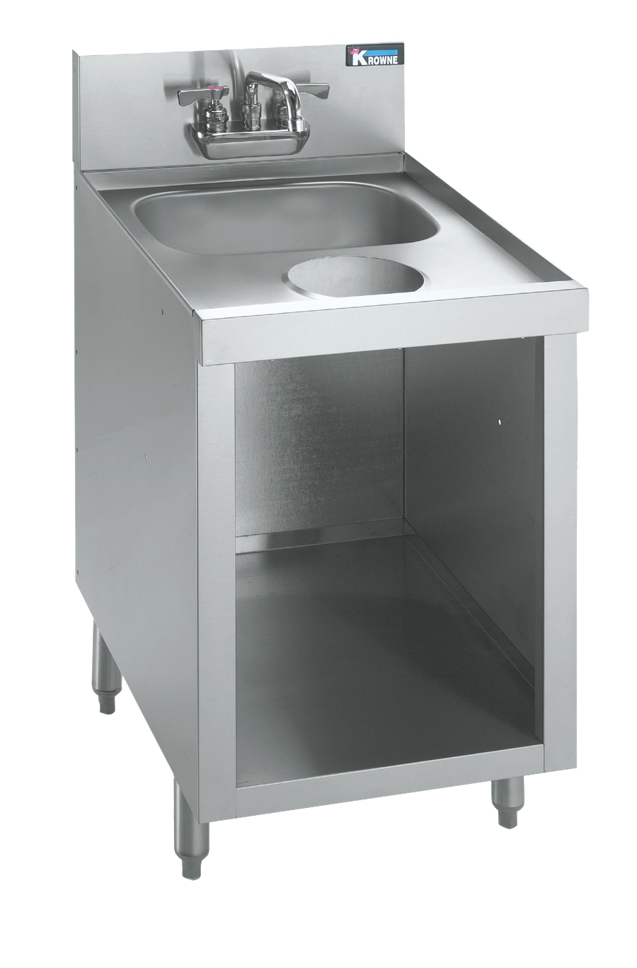 Krowne Metal KR21-SD18C underbar hand sink unit