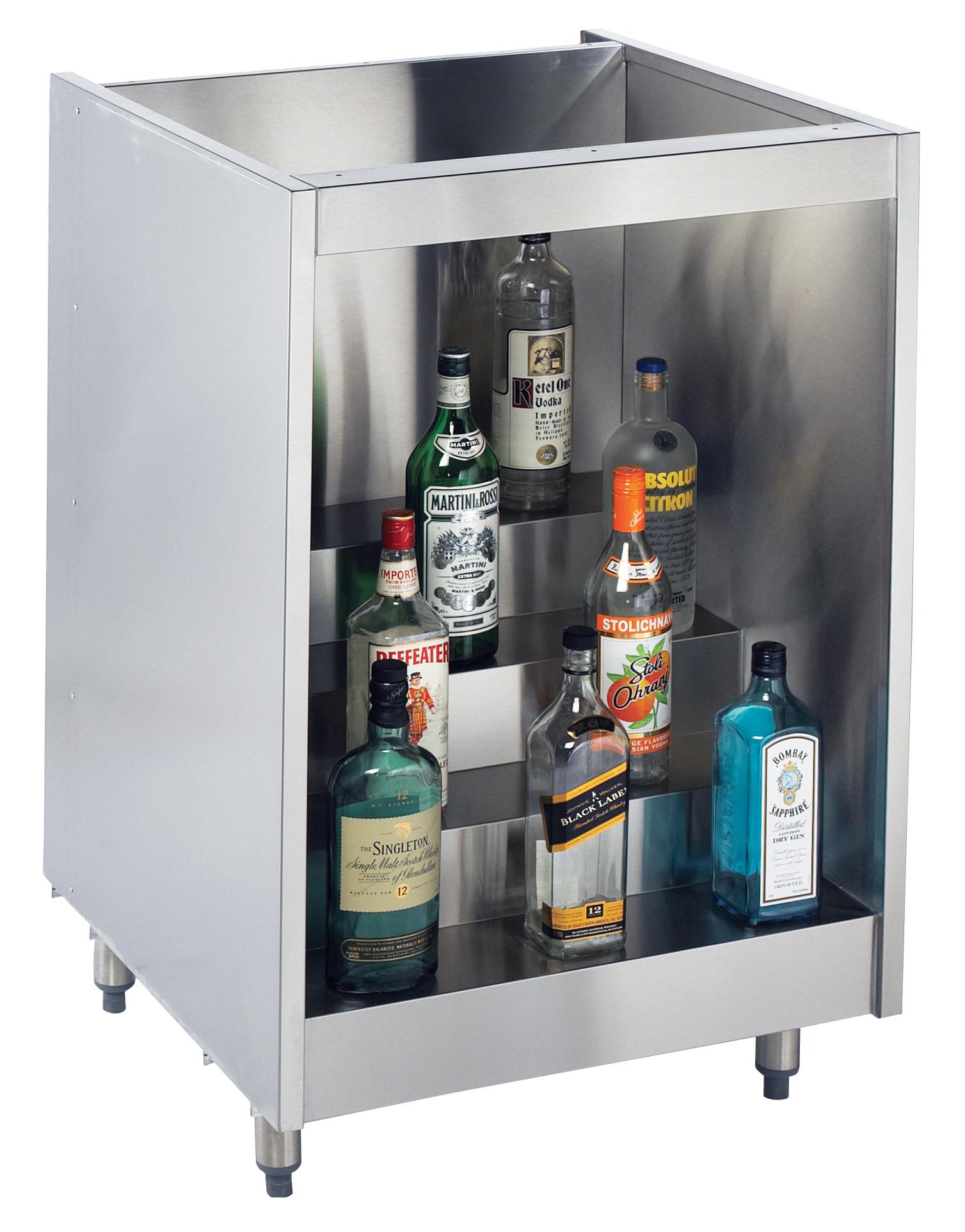Krowne Metal KR-L24 back bar cabinet, non-refrigerated