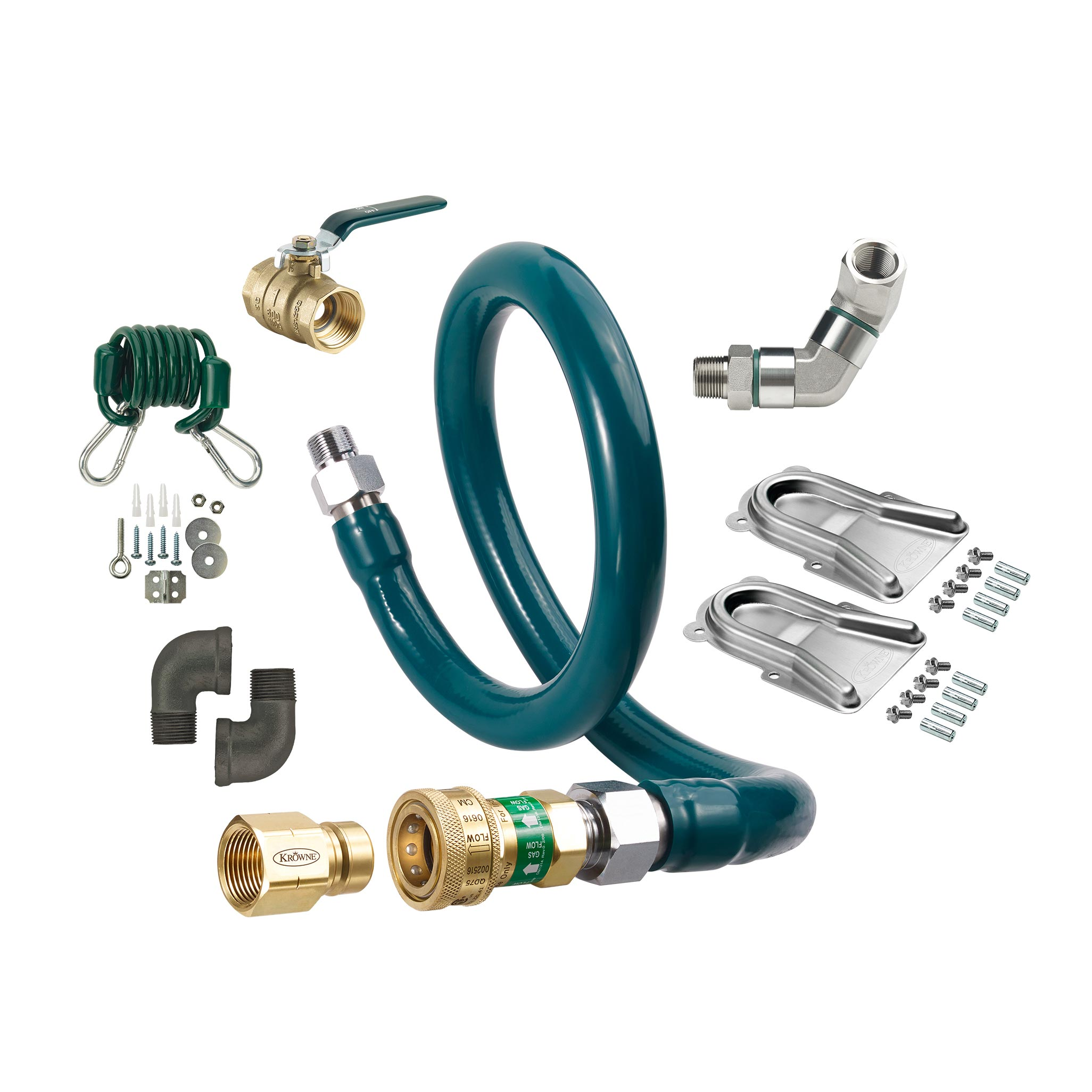 Krowne Metal M10024K11 gas connector hose kit
