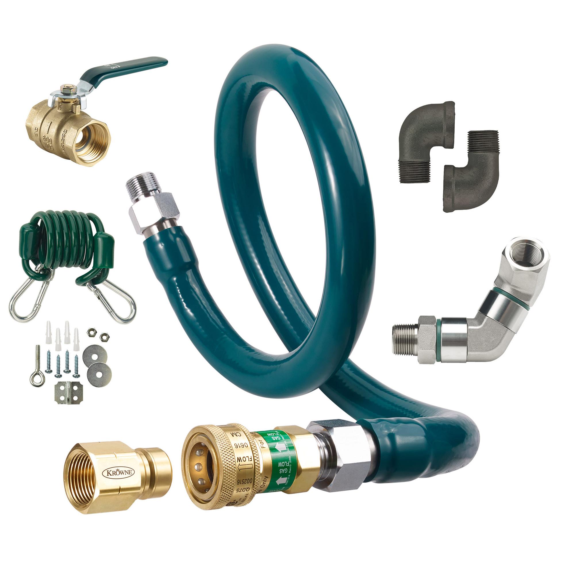 Krowne Metal M10036K9 gas connector hose kit