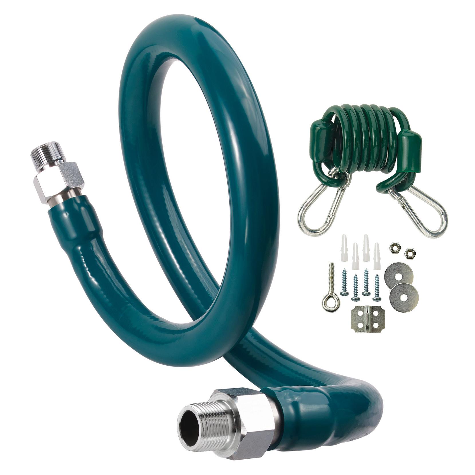 Krowne Metal M10048K6 gas connector hose kit