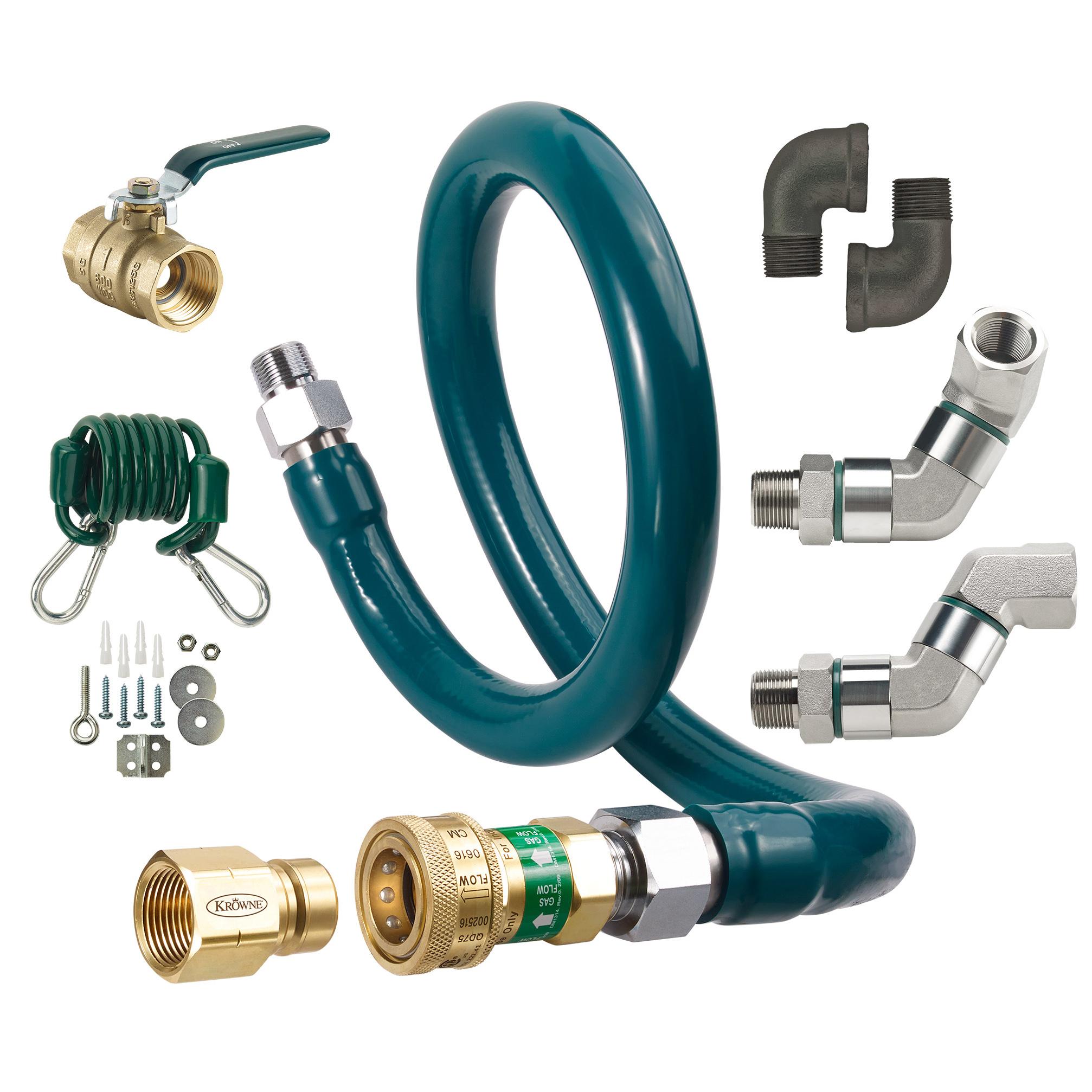 Krowne Metal M10060K10 gas connector hose kit