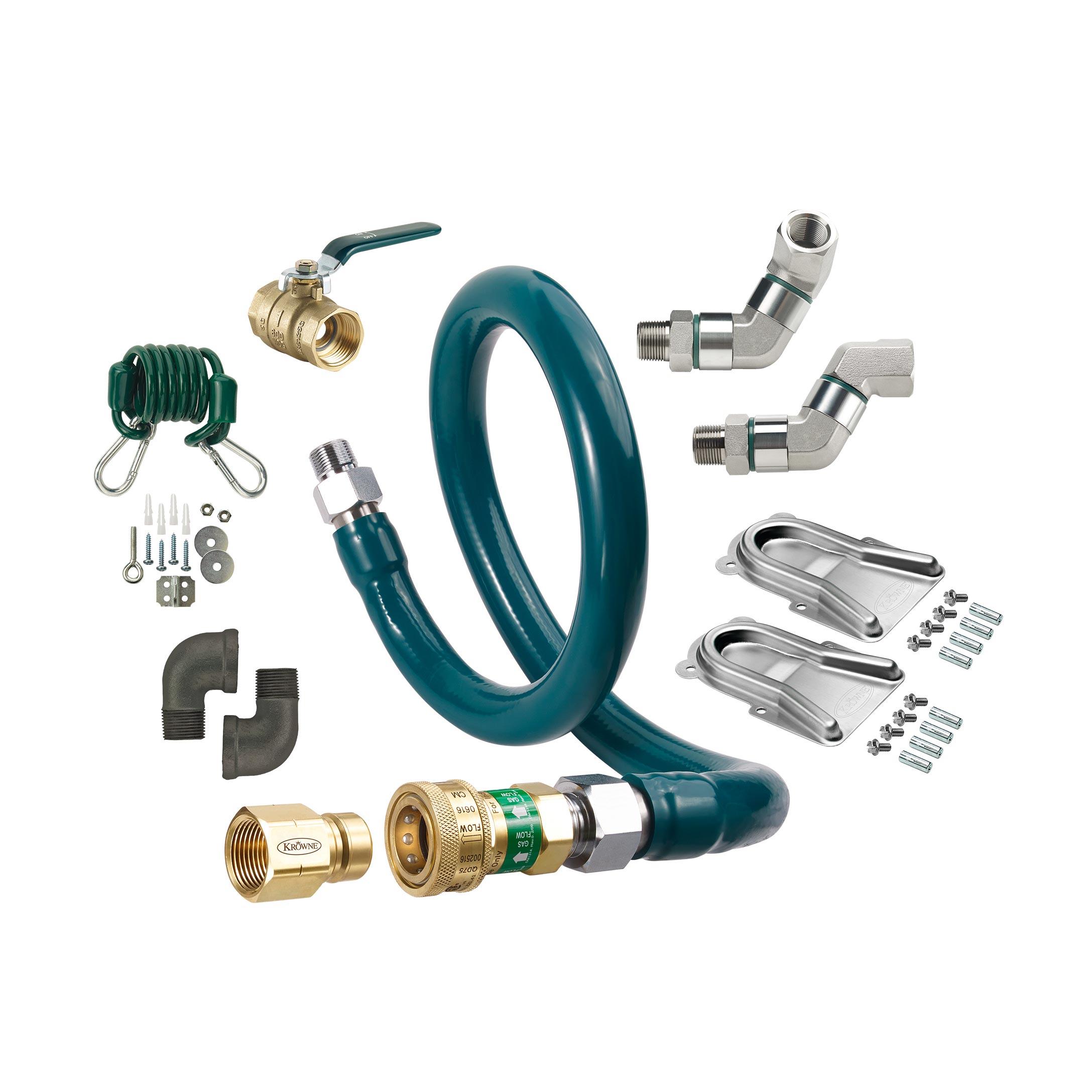 Krowne Metal M10072K12 gas hoses