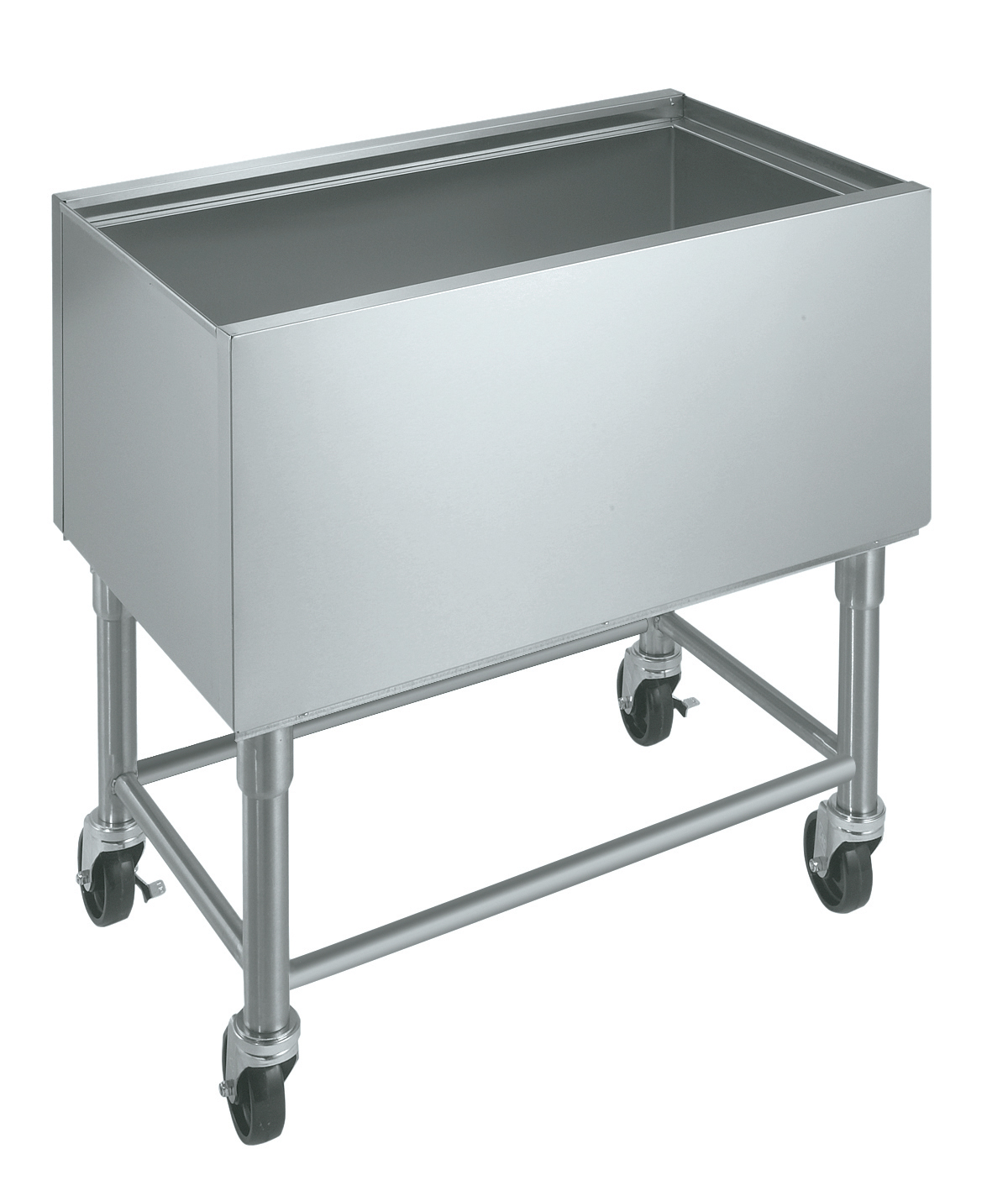 Krowne Metal MB-1824 ice bin / ice caddy , mobile