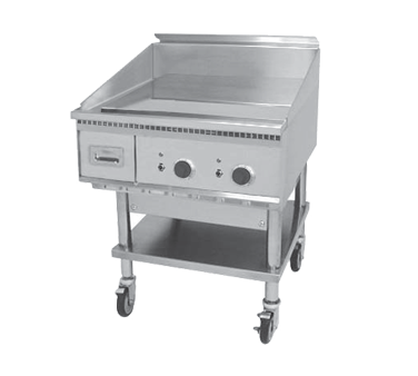 Keating 27X24FT-E griddle, electric, countertop