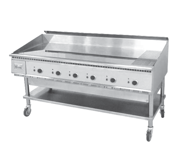 Keating 72X36FT-E griddle, electric, countertop