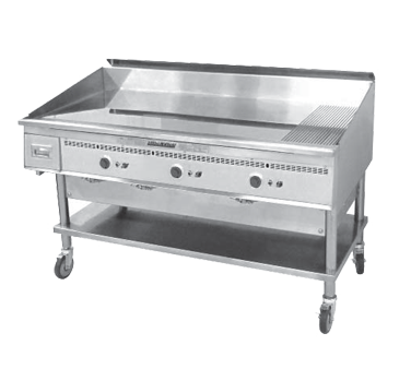 Keating 72X36FT-G griddle, gas, countertop