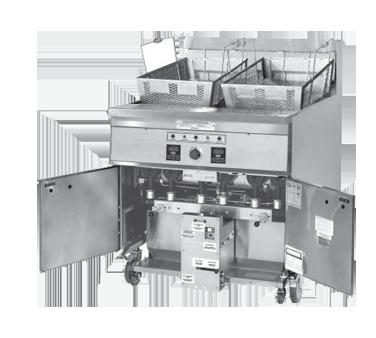 Keating SE24 fryer filter, built-in