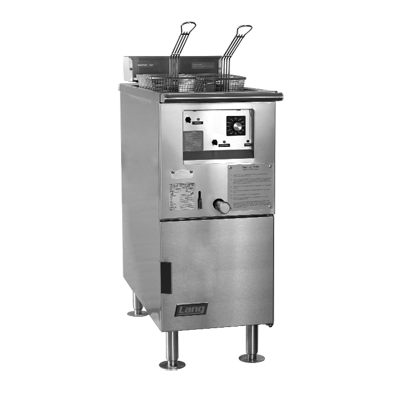 Lang Manufacturing 150F-MN fryer, electric, floor model, full pot