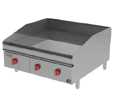 Lang Manufacturing 236ZTD griddle, gas, countertop