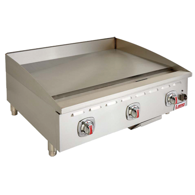 Lang Manufacturing 424SC griddle, gas, countertop
